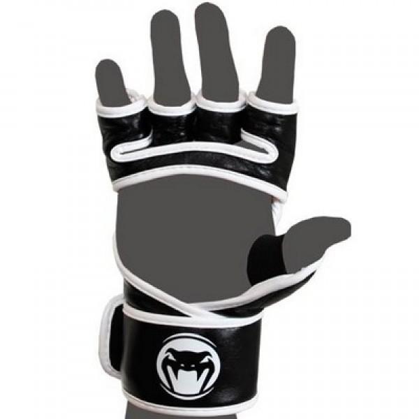 Перчатки ММА Venum Undisputed MMA Gloves - Nappa Leather White
