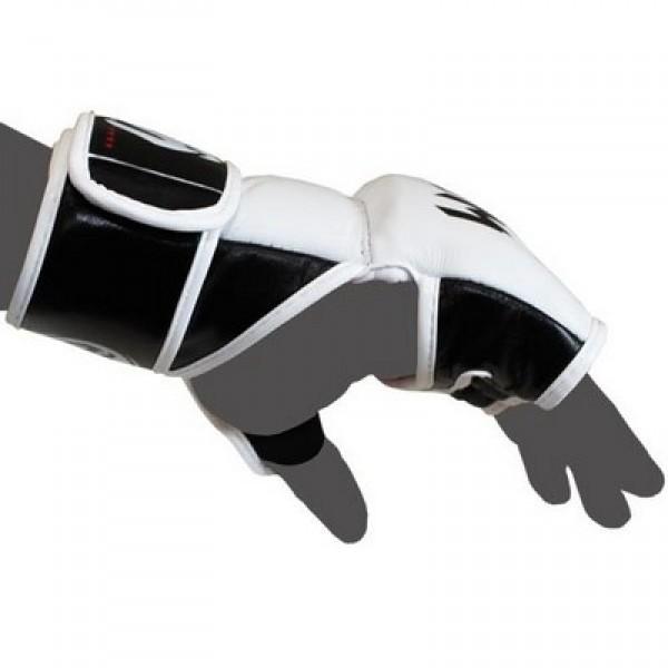 Перчатки ММА Venum Undisputed White Nappa Leather