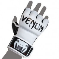 Перчатки ММА Venum Undisputed MMA Gloves - Nappa Leather White