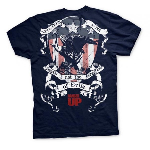 Футболка Ranger Up Live Free or Die Athletic-Fit T-Shirt