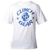 Футболка Clinch Gear Icon Tee- White/ Blue