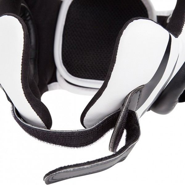 Шлем боксерский Venum Challenger 2.0 Headgear Hook & Loop Strap - Black/Ice