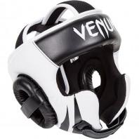 Шлем боксерский Venum Challenger 2.0 Headgear Hook & Loop Strap - Black/Ice
