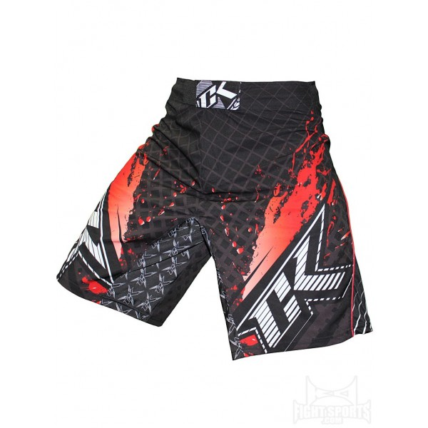 Шорты ММА Contract Killer Stained S2 Shorts - Black/Red