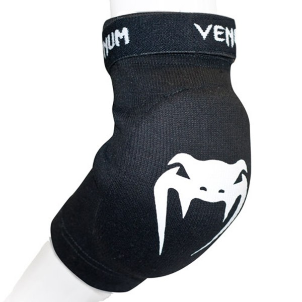 Налокотники Venum Kontact Elbow Protector - Cotton Black (пара)