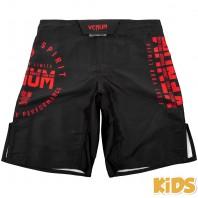 Шорты ММА детские Venum Signature Black/Red