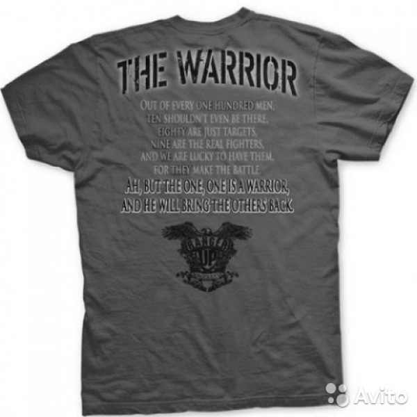 Футболка Ranger Up The Warrior Athletic Fit