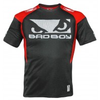 Футболка Bad Boy Performance Walk In Tee Black/Red