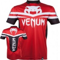 Футболка Venum - Aldo UFC 163 Walk-Out Dry Fit - Red & Black