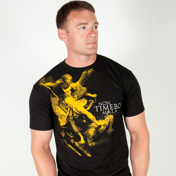 Футболка Ranger Up Saint Michael Archangel Protector Normal Fit T-Shirt