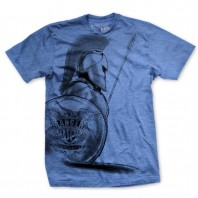 Футболка Ranger Up Spartan Ultra Thin Vintage T-Shirt Blue