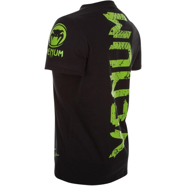 Футболка Venum Original Giant Tee Black/Yellow