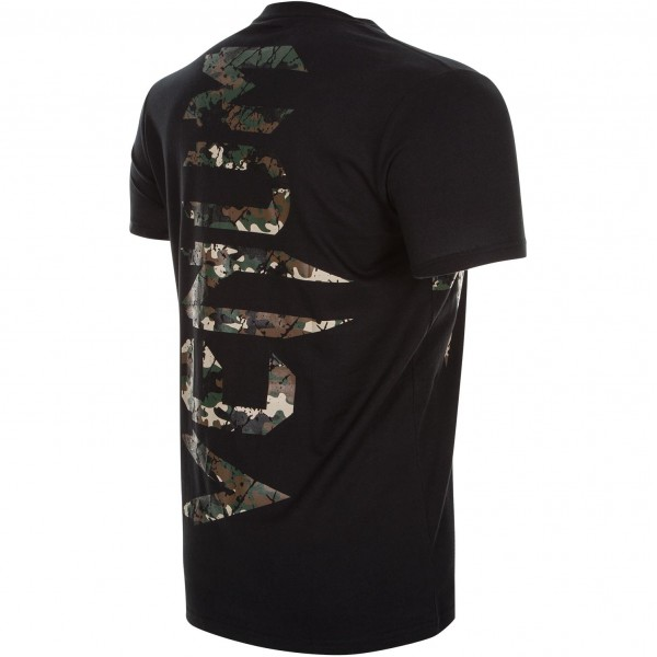 Футболка Venum Original Giant Tee Jungle Camo Black