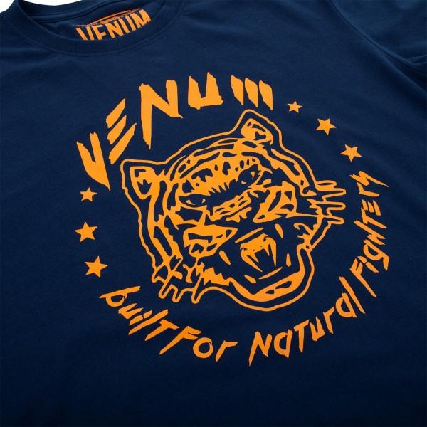 Футболка Venum Natural Fighter Tiger - Blue