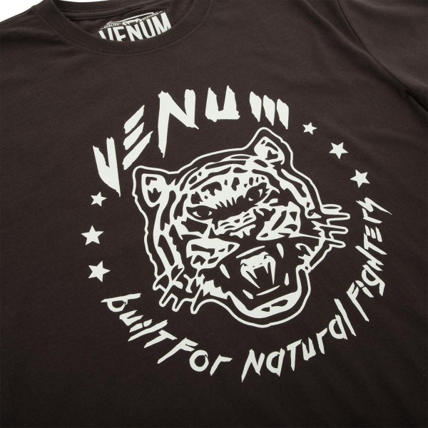 Футболка Venum Natural Fighter Tiger - Brown