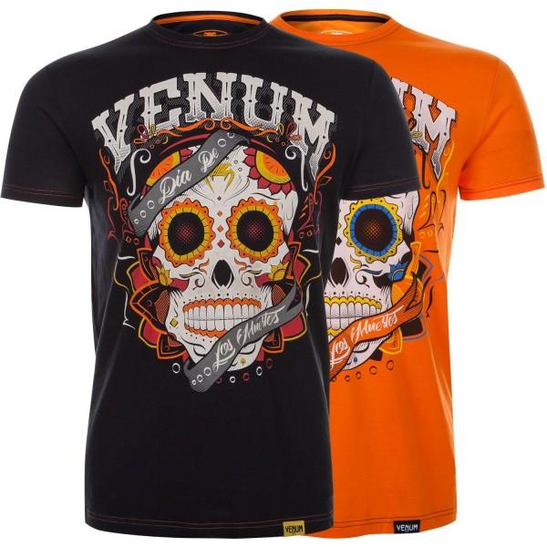 Футболка Venum Santa Muerte Orange