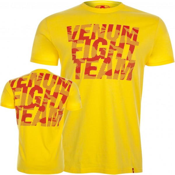 Футболка Venum Speed Camo Acid Yellow
