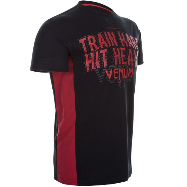 Футболка Venum Train Hard Hit Heavy Black