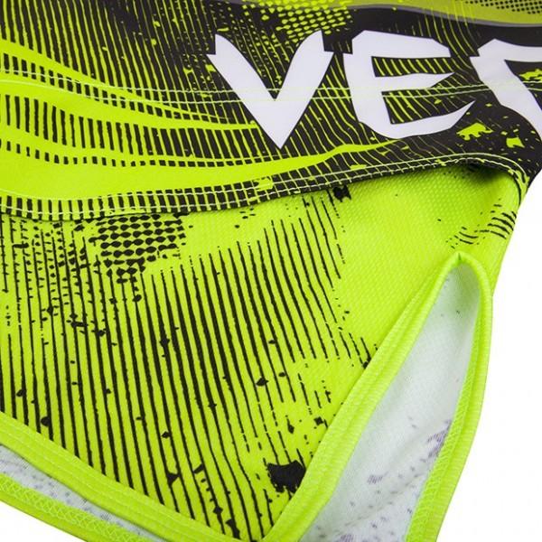 Шорты ММА Venum Galactic Fightshorts Neo Yellow