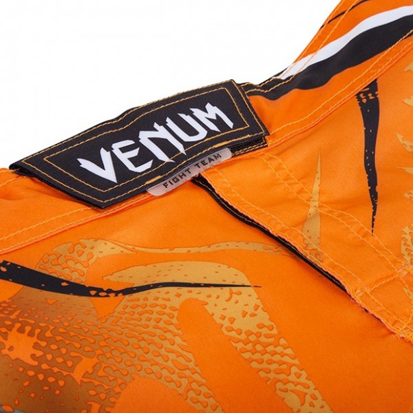 Шорты ММА Venum Galactic Fightshorts Neo Orange