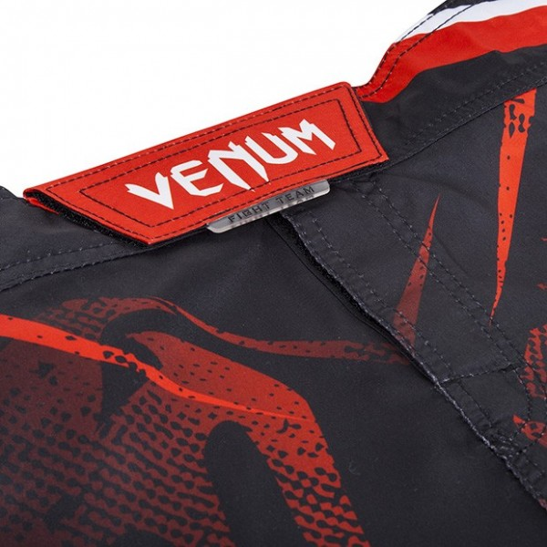 Шорты ММА Venum Galactic Fightshorts Black/Red