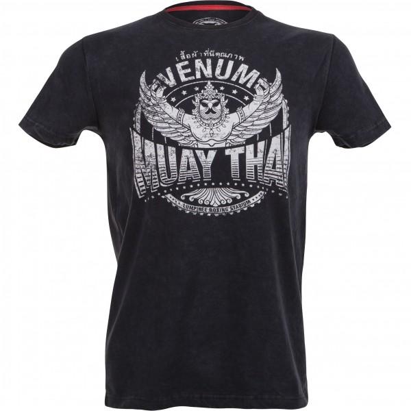 Футболка Venum Muay Thai Garuda T-shirt - Black