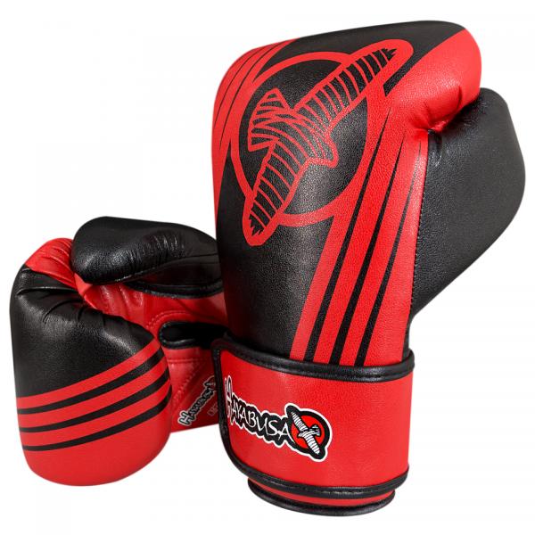 Перчатки боксерские Hayabusa Ikusa Recast 16oz Black/Red