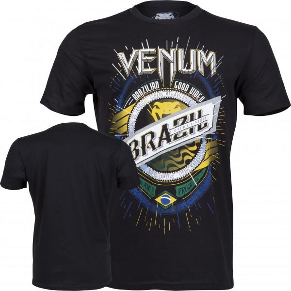 Футболка Venum Keep Rolling T-shirt - Black