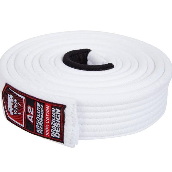 Пояс для бжж Venum Belt White A2
