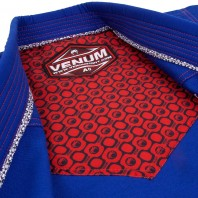 Кимоно для бжж Venum Elite Light Blue/Red A1,5