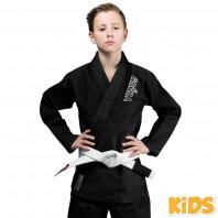 Кимоно для бжж Venum Contender Kids Black с поясом