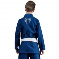 Кимоно для бжж Venum Contender Kids Blue с поясом