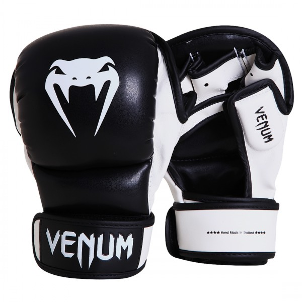 Перчатки ММА Venum Sparring Gloves Black