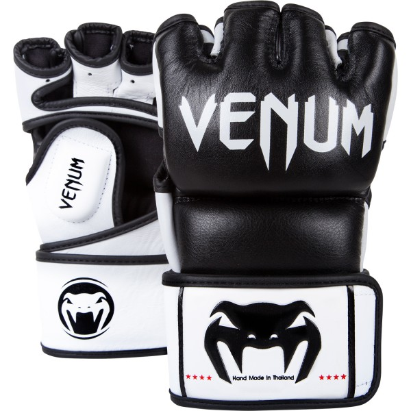 Перчатки ММА Venum Undisputed Gloves - Nappa Leather Black