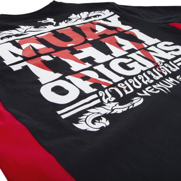 Футболка Venum Muay Thai Origins T-shirt - Black