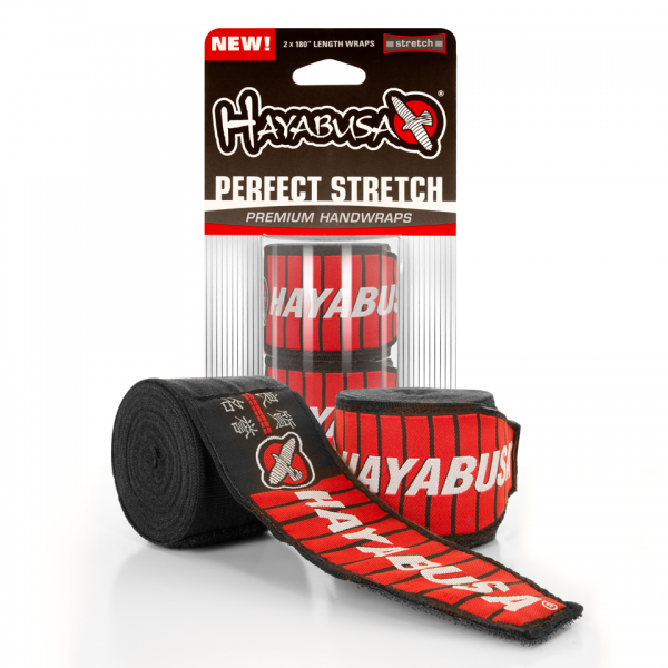 Бинты боксерские Hayabusa Perfect Stretch 2 Handwraps Black