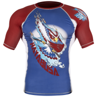 Рашгард Hayabusa Ninja Falcon Blue/Red S/S