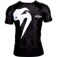 Рашгард Venum Giant Rashguard - Short sleeves - Black