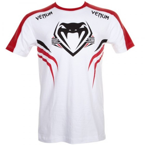 Футболка Venum Shockwave 2 White/Red