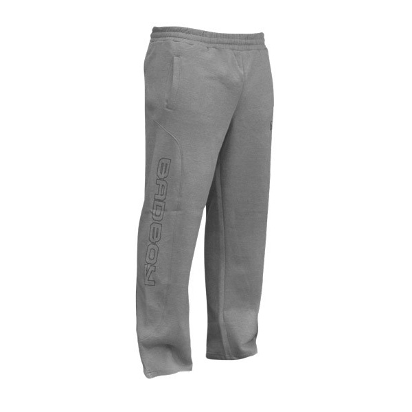 Штаны Bad Boy Open Hem Cotton Joggers - Grey