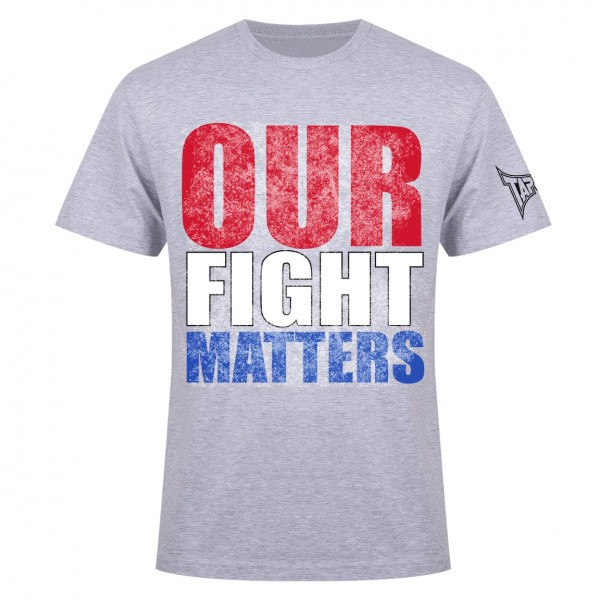Футболка Tapout Our Fight Matters Men's T-Shirt Heather