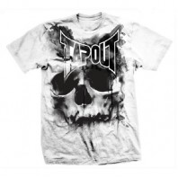 Футболка Tapout Skull Drip Men's T-Shirt White