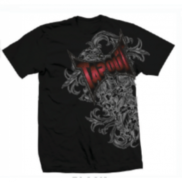 Футболка Tapout Side Swipe Men's T-Shirt Black
