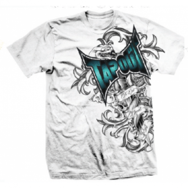 Футболка Tapout Side Swipe Men's T-Shirt White