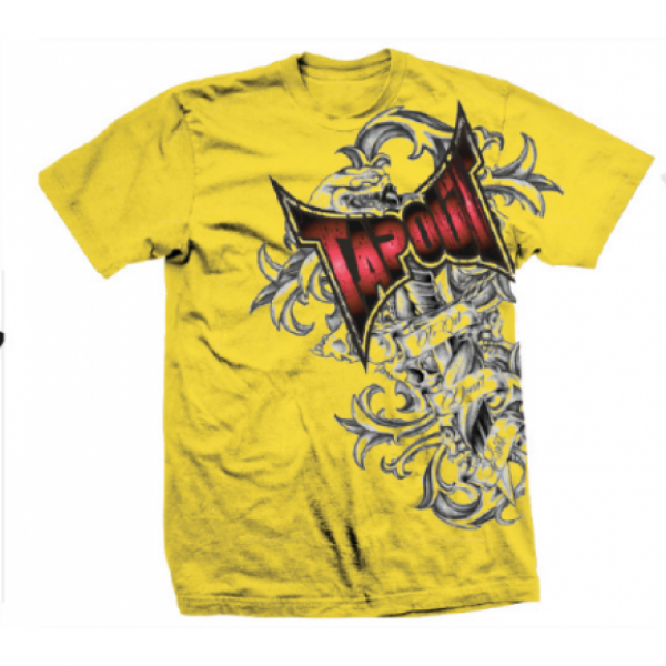 Футболка Tapout Side Swipe Men's T-Shirt Yellow