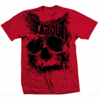Футболка Tapout Skull Drip Men's T-Shirt Red