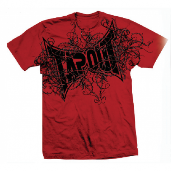 Футболка Tapout Thorny Mens T-Shirt Red<br>Вес кг: 280.00000000;