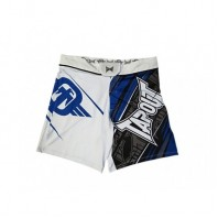 Шорты ММА TapouT 4 Way Stretch Performance Fight Shorts White