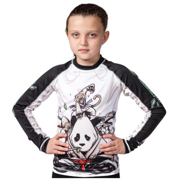 Рашгард детский Tatami Gentle Panda Kids