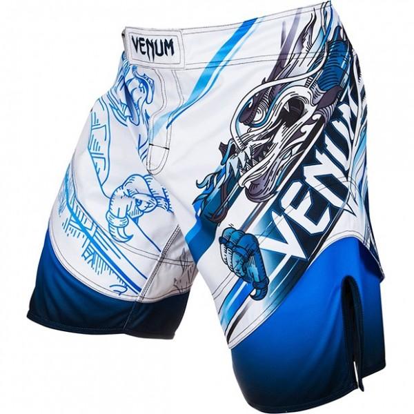 Шорты ММА Venum Lyoto Machida Tatsu King Fightshorts Ice/Blue